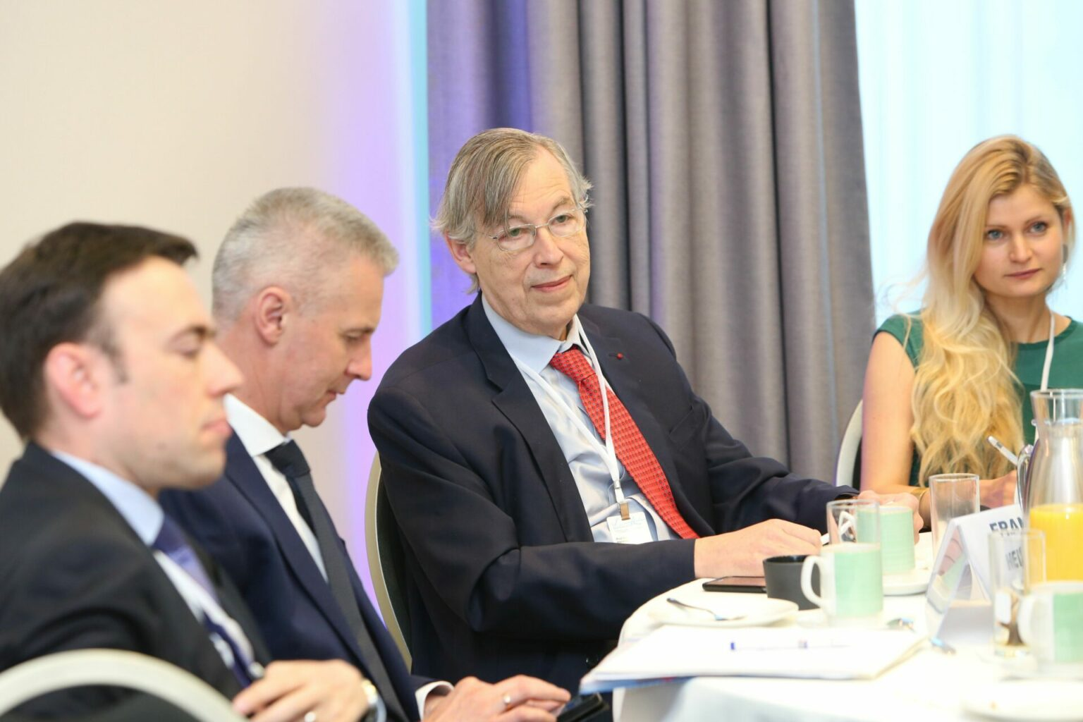 """François Heisbourg participated in a breakfast session entitled """"Unity of Principles: France and Germany in a Changing Europe"""" at LMC 2019."""