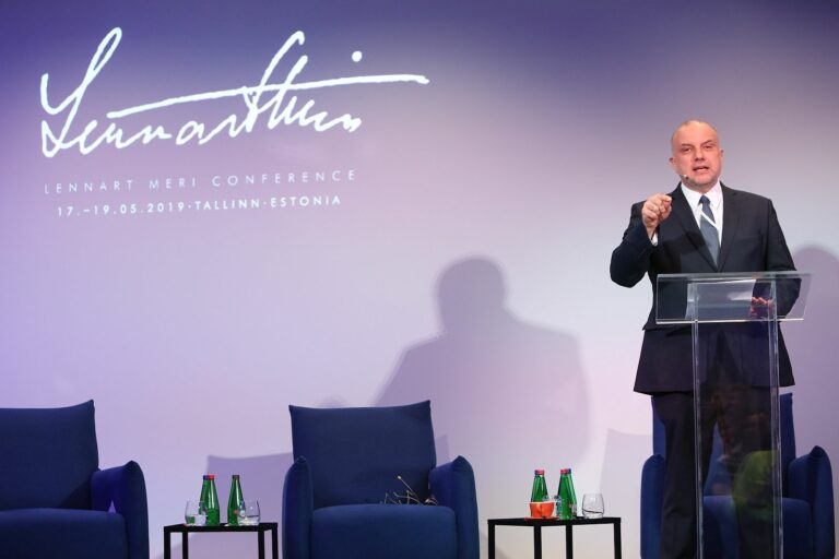 Jüri Luik, Lennart Meri lecture at LMC 2019