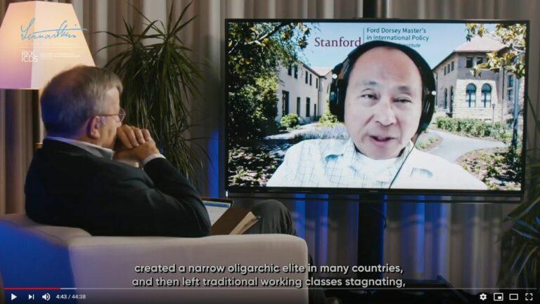 LMC Talks: Francis Fukuyama & Toomas Hendrik Ilves